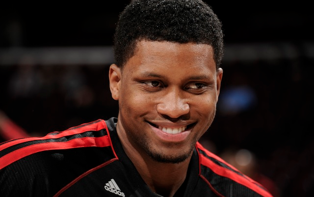 Rudy Gay may not play again this year.  (Getty Images)