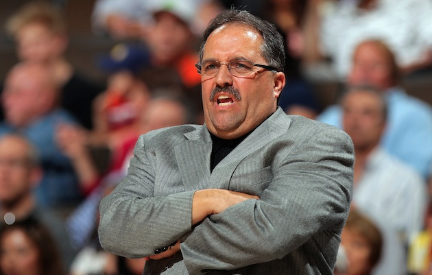 Stan Van Gundy could take control in Detroit soon. (USATSI)