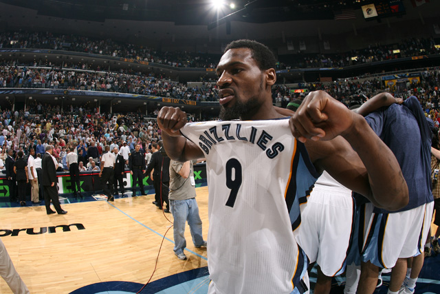 The Grizzlies re-signed Tony Allen this summer.  (USATSI)