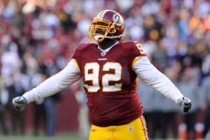 A. Haynesworth was deactivated last Sunday for not practicing the Friday before (US Presswire).