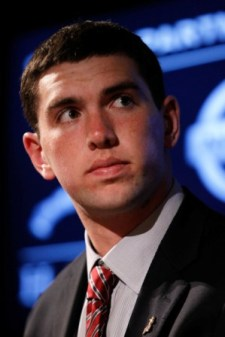 What happens if Stanford QB Andrew Luck returns to school next year (Getty)?