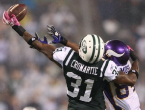 A. Cromartie has played extremely well in the absence of R. Moss (US Presswire).
