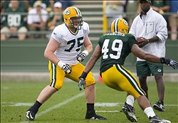 B. Bulaga has steadily gotten better this season.