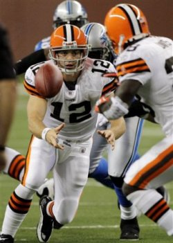 C. McCoy will get plenty of playing time in Cleveland's final preseason game of the year (AP).