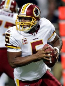 D. McNabb will face his old team in Philadelphia for the first time this Sunday (AP).