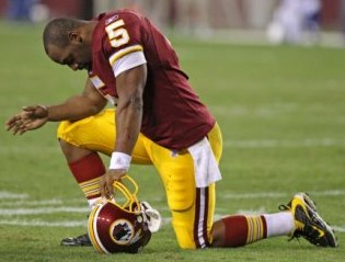 D. McNabb signed a five-year deal with Washington that could be worth as much as $88 million (US Presswire).