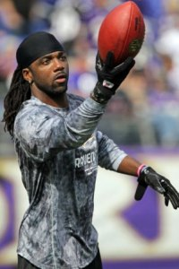 D. Stallworth was given Baltimore's Ed Block Courage award (US Presswire).