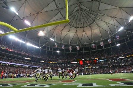 With tonight's loss, Atlanta is now 19-2 when M. Ryan is quarterbacking the squad at the Georgia Dome (US Presswire).