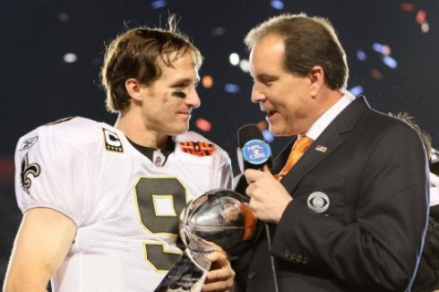 Announcer Jim Nantz just celebrated his 25th anniversary with CBS Sports (Getty).