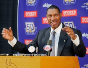 Leslie Frazier made his debut at the Minnesota news conference today (US Presswire).