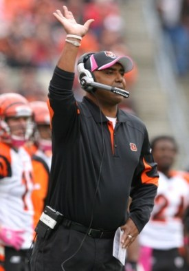 Marvin Lewis is in the final year of his five-year contract, and his future is unknown at this point (Getty).