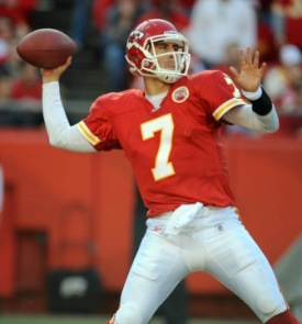 M. Cassel has been named the AFC offensive player of the month (US Presswire).
