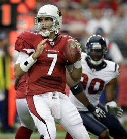 M. Leinart might be better off if he was traded to New York (AP).