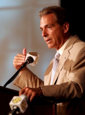 Nick Saban called some agents
