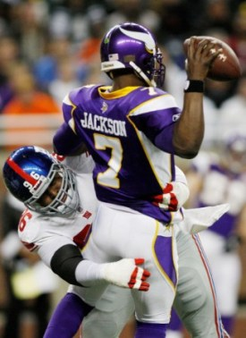 T. Jackson did not look good in his first start since the end of the 2008 season (US Presswire).