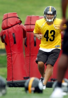 T. Polamalu will make a major impact on Pittsburgh's defense if he's completely healthy (Getty).