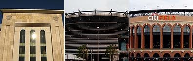 Yankee Stadium, Meadowlands Stadium, Citi Field