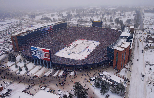 Superb Here Is A Small Collection Of The Images Of The Winter Classic, Of Which  There Are Too Many To Count. All Photos Come Courtesy Of Getty Images.