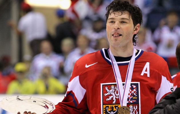 Jagr returns to the Czech national team, not surprisingly. (Getty Images)