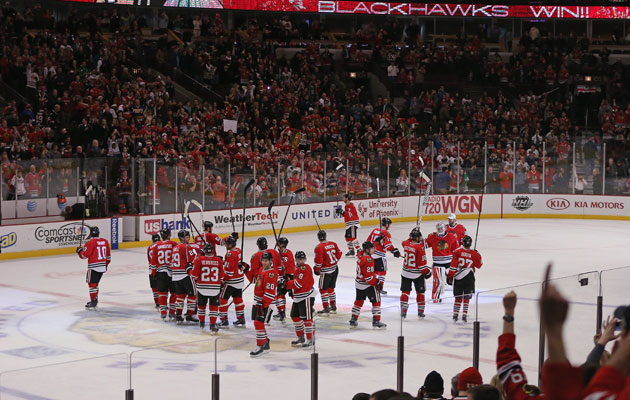 Chicago is one of 15 NHL cities selling out every game. (Getty Images)