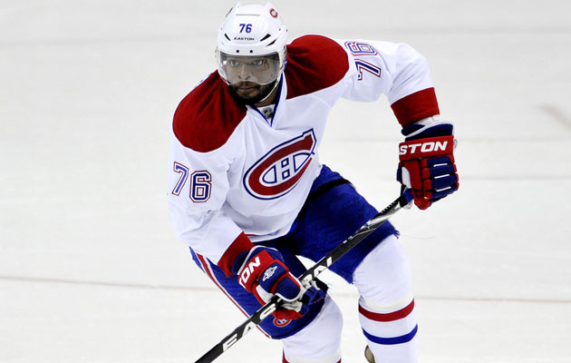Subban signed a two-year deal before the 2013 season. (Getty Images)