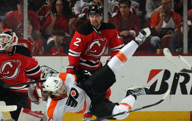 Zidlicky has 586 PIM in 661 NHL games. (Getty Images)