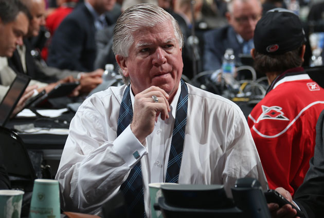 The team Brian Burke put together is finding success in Toronto this season. (Getty Images)