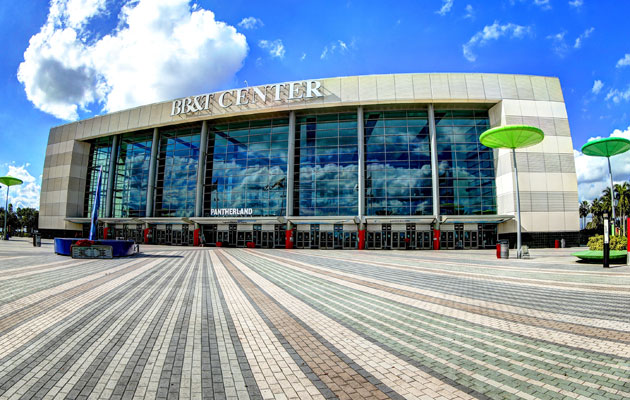 BB&T Center will welcome the NHL for the draft in 2015. (Getty Images)