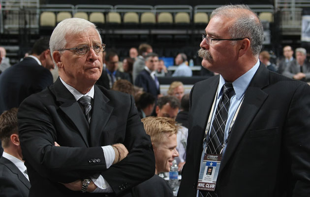 Murray will remain the boss of head coach Paul MacLean. (Getty Images)