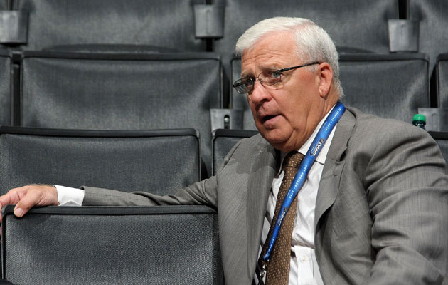 Bryan Murray has young talent to use as trade chips. (Getty Images)