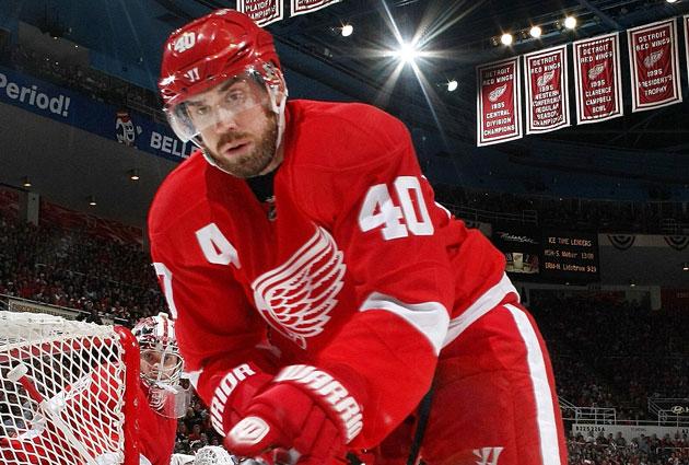 90e964f92 Wings name Henrik Zetterberg captain
