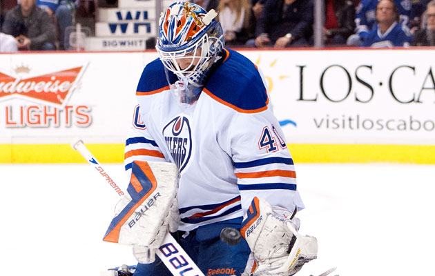 Dubnyk is headed to Nashville for Hendricks. (Getty Images)