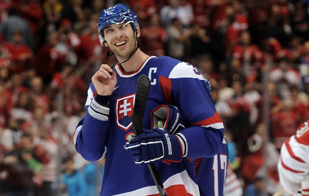 Chara will be representing Slovakia well in Sochi. (Getty Images)