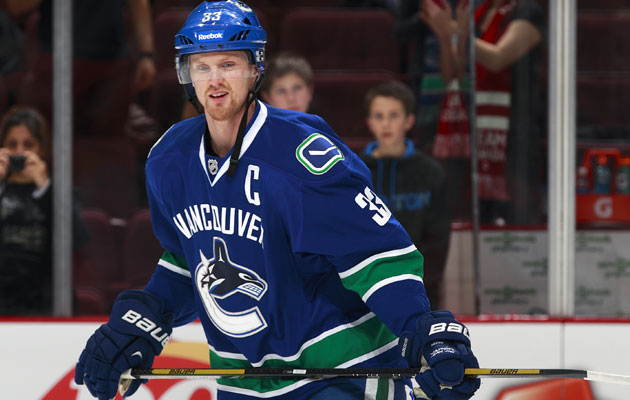 Sedin has played in every Vancouver game for more than 10 years. (Getty Images)