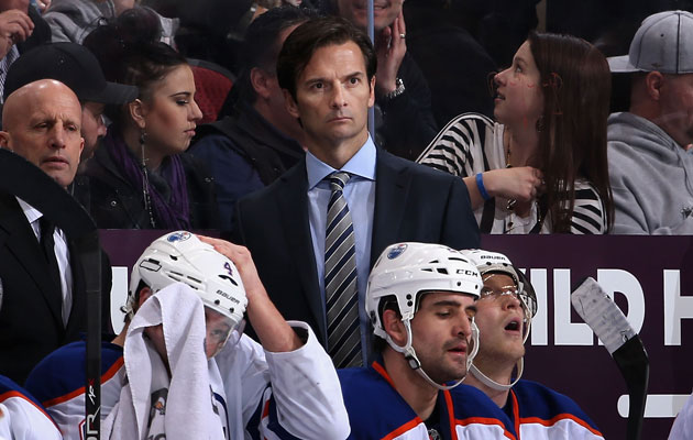 Eakins' team is just 15-31-6 this season. (Getty Images)
