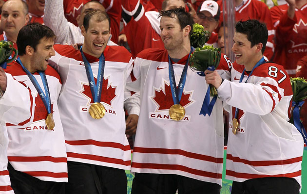 The Canadians are favored to repeat as gold medalists. (Getty Images)