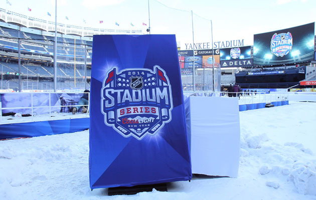 The first two rounds of the Stadium Series were hits. (Getty Images)
