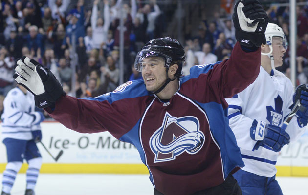 Parenteau has 26 points in 41 games this season. (Getty Images)
