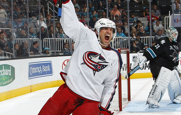 Prospal played the last two seasons in Columbus. (Getty Images)