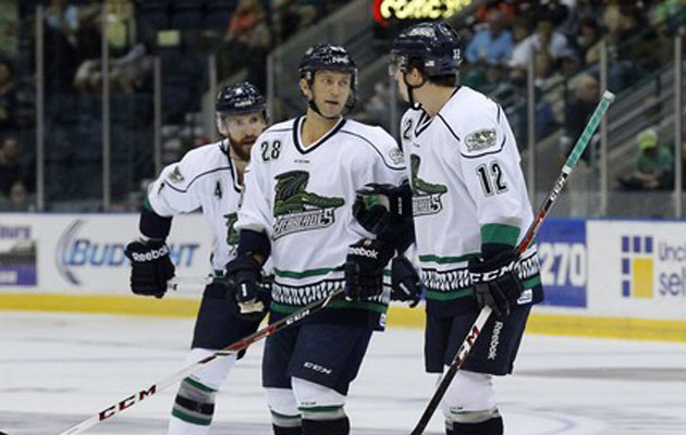 Rafalski played three games for the Everblades. (Dania Maxwell/Naples News)