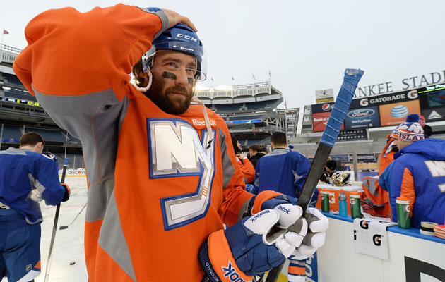 The Isles' outdoor experience is limited to Tuesday's practice. (Getty Images)