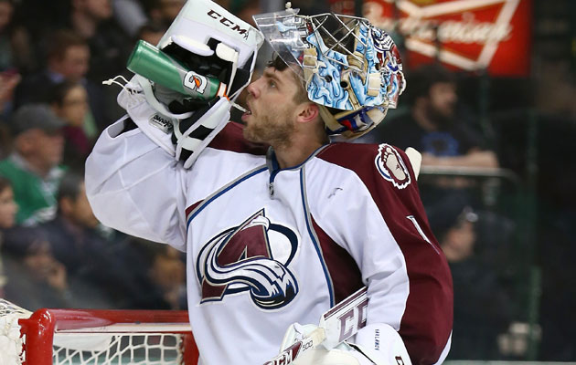 Varlamov will be staying in Colorado for a while. (Getty Images)