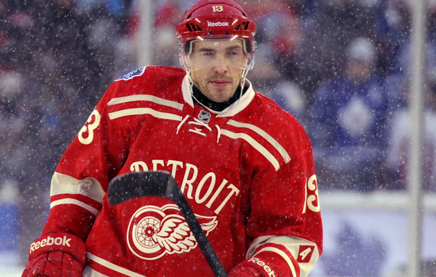 Datsyuk's last game came in the Winter Classic. (Getty Images)
