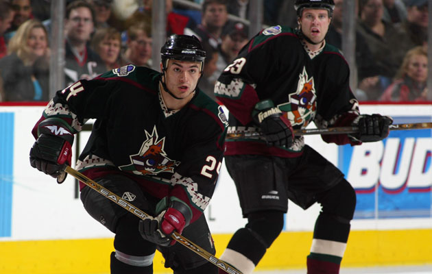 The old uniforms will come back for at least one game next season. (Getty Images)