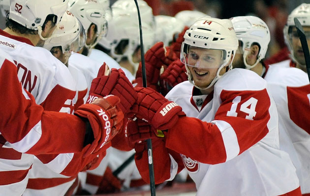 Nyquist has eight goals in the last seven games. (Getty Images)