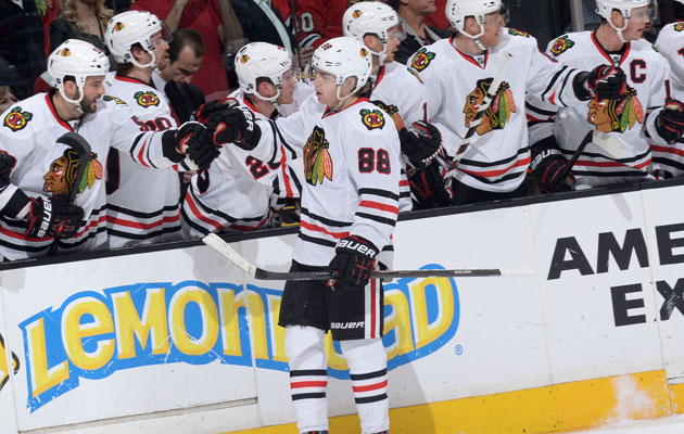 Chicago remains the favorite to win the Cup. (Getty Images)