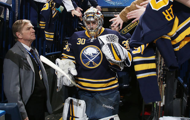 Miller has a .923 save percentage this season. (Getty Images)