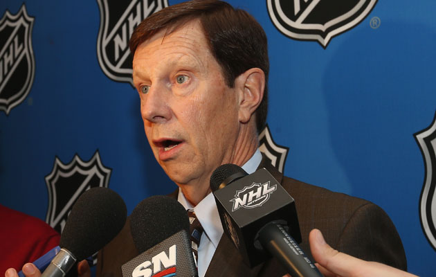 Poile has been the GM of the Predators since the team's inception. (Getty Images)