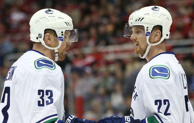 Henrik (left) won't be joining Daniel in Sochi. (Getty Images)