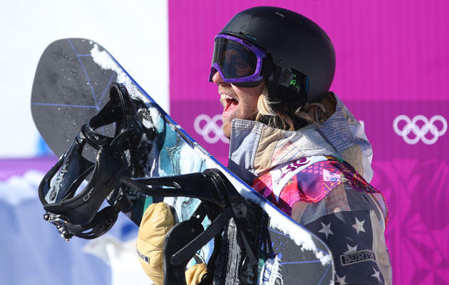 Katsenburg is the first slopestyle snowboard gold medalist. (Getty Images)